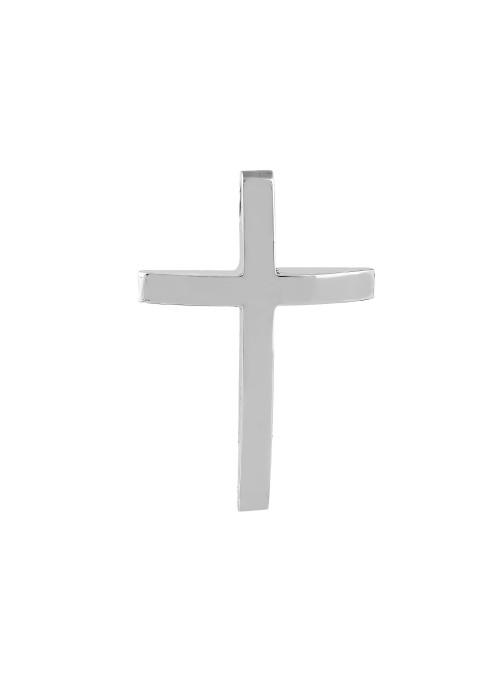 Σταυρός λευκόχρυσος Κ18