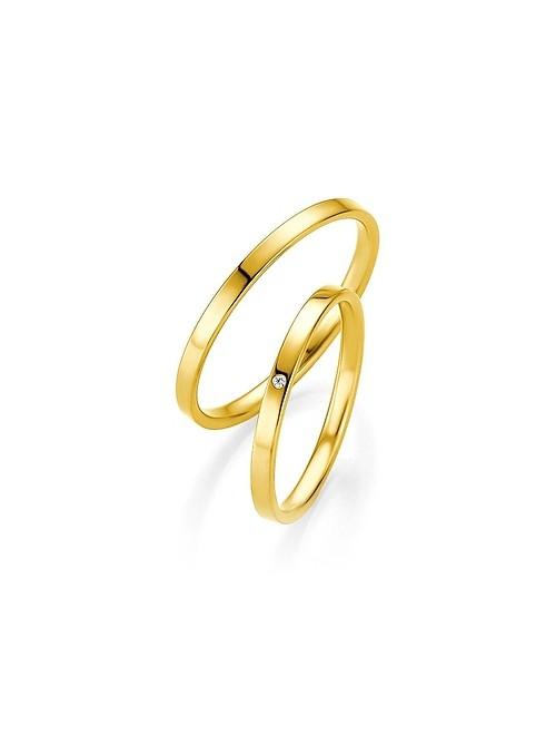 Βέρες γάμου Breuning σε χρυσό